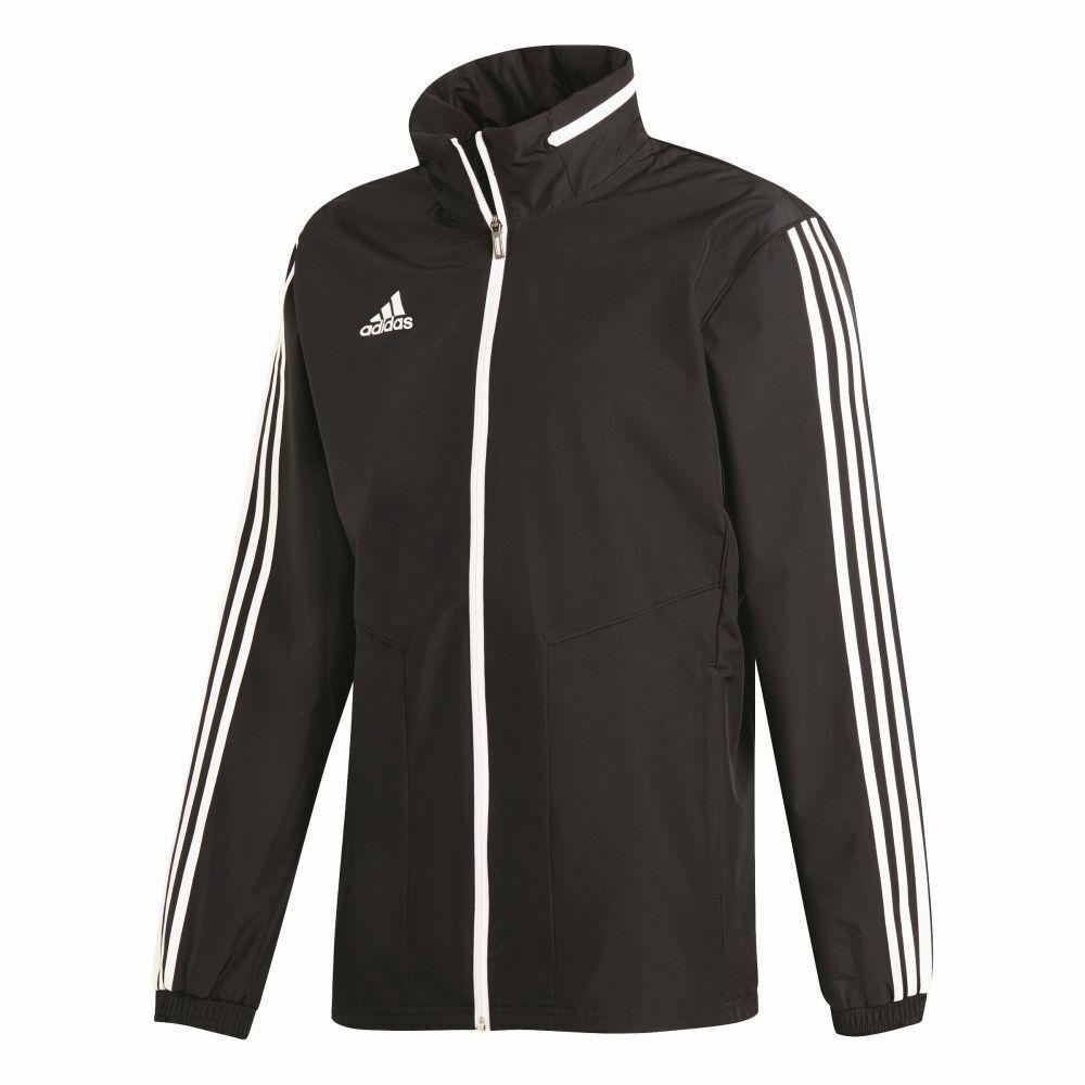 Adidas Fútbol Para Hombre  Chaqueta de todo tiempo Full Zip Hooded Top Impermeable  nuevo sádico