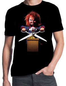 5cb647ce Child's Play Chucky Classic Retro 80's Horror Slasher Movie Funny ...