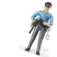 Bruder Police Man Action Figure Law Enforcement Hero - Light Skin 60050