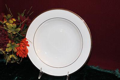 Lenox Solitaire White Past Rim Soup Bowl NEW USA