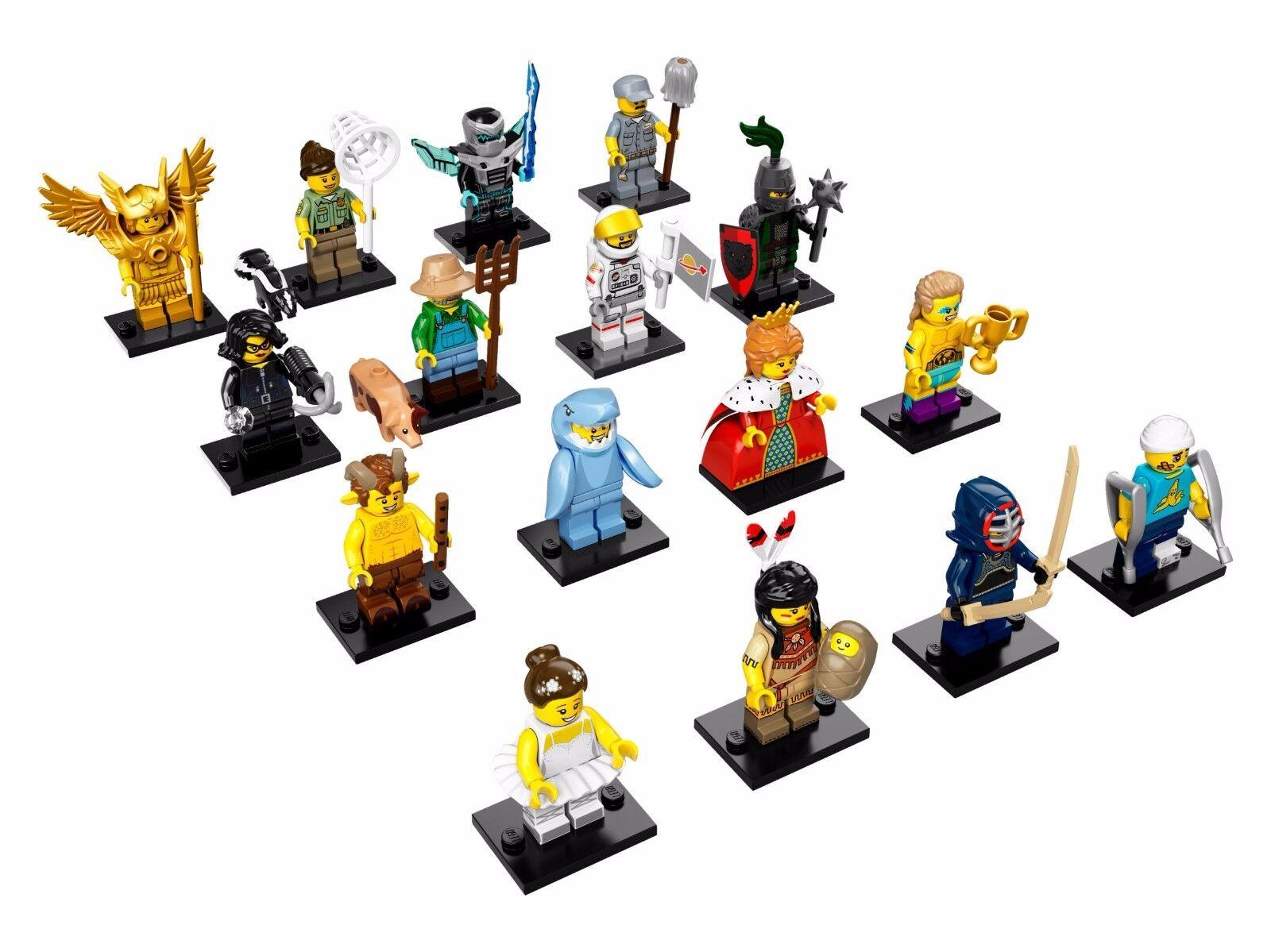 Lego 71011 71011 71011 Jeu Complet Of 16 Mini Figurine S Série 15 0dc0c4