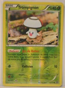 Carte-Pokemon-TROMPIGNON-12-114-PV-40-REVERSE-NEUVE