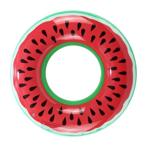 Inflatable Watermelon Float Raft Swimming Pool Beach Fun Sport Swim Ring Hot