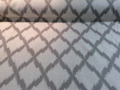 Ikat Natural Oatmeal Linen /& Bamboo  Curtain//Craft//Upholstery Fabric 120cm wide
