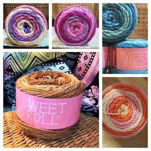 Premier-Sweet-Roll-Yarn-100-Acrylic-4-Medium-No-Dye-Prints-Multicolor