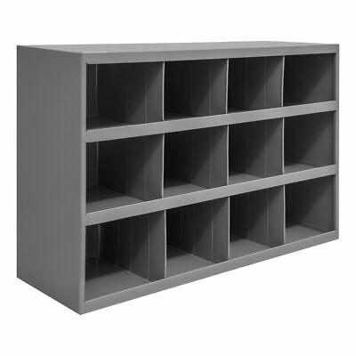 Metal 16 Hole Storage Bolt Bin Cabinet Tray Box Nuts Bolts Fasteners Screws