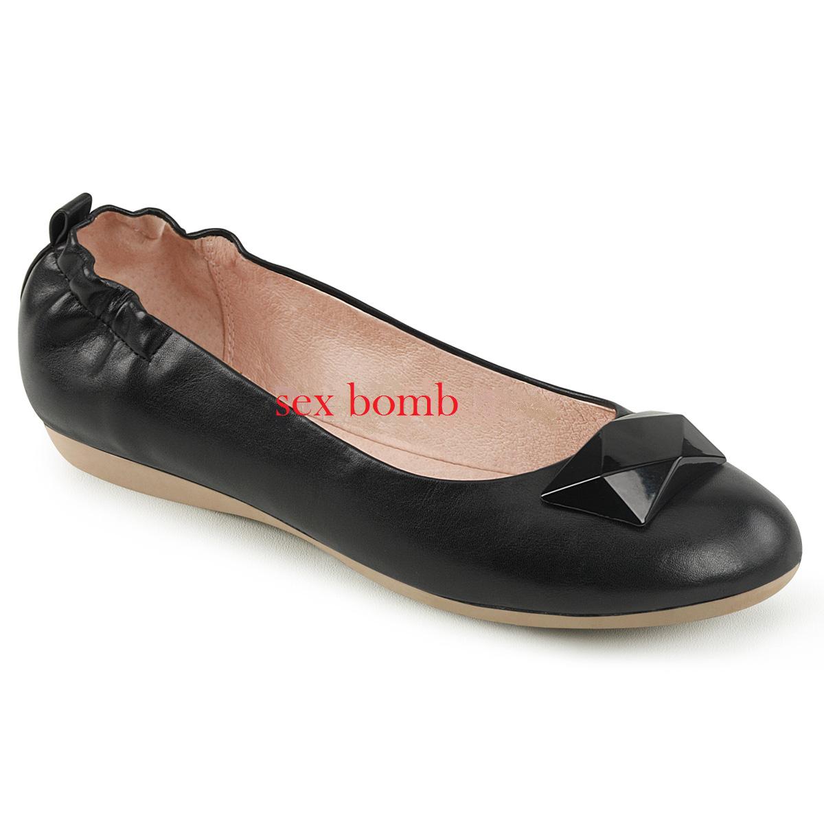 BALLERINE NERE elasticizzato pieghevoli dal 35 al 41 tacco elasticizzato NERE scarpe GLAMOUR chic 67a725