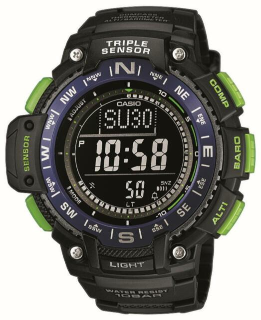 Casio Sportuhr Armbanduhr SGW-1000-2BER Outdoor Uhr