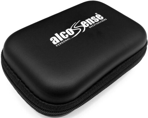 AlcoSense Universal Carry Case 80mm x 118mm x 42mm Mouthpieces Breathalyser Bag
