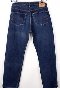 Levi's Strauss & Co Herren 501 Gerades Bein Jeans Größe W38 L34 BCZ843