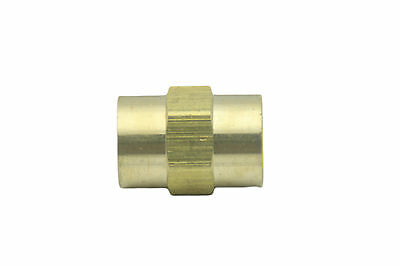 "(Lead Free) New Brass Pipe Fitting 1/8"" Female NPT Coupling Water"