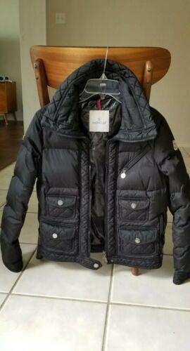 Women's Authentic Moncler Black jacket.