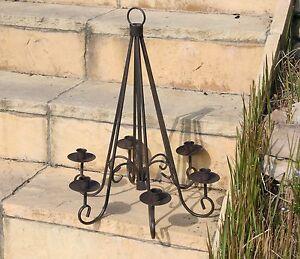 h ngeleuchter f r kerzen kerzenleuchter f r kerzen kronleuchter leuchter lampe ebay. Black Bedroom Furniture Sets. Home Design Ideas