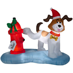 CHRISTMAS-SANTA-DOG-PEE-FIRE-HYDRANT-6FT-X-4-FT-AIRBLOWN-INFLATABLE-YARD-DECOR