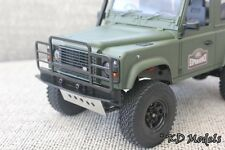 Custom Bull Bar Bumper for Gelande 1/18 scale Landrover D90 Crawler RC4WD Type 2