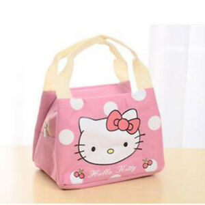 6d8a83dceca9 Hello Kitty Picnic Camping Bag Food Lunch And Storage Bag Cute ...