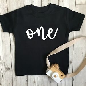 Personalised First Birthday Baby Boys 1st Vest Outfit One Cake Smash