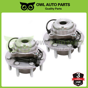 515056-Front-Wheel-Bearing-Hub-Set-For-2003-2004-Ford-F-250-F-350-Super-Duty-SRW