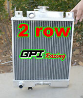 Suzuki Swift Gti 1989-1994 -1989 Aluminum Radiator Mt