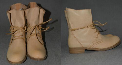 Damen Schnürboots Schnürer Stiefel Stiefeletten Schuhe Gr 36-41 Trendy