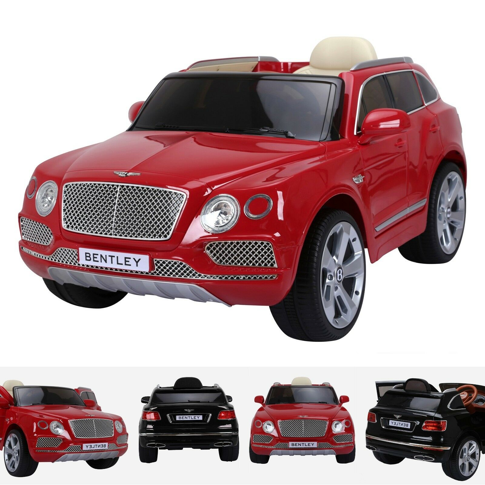 Licensed Bentley Bentayga 12V Electric Battery Powerot  SUV Ride on Car Jeep MP3