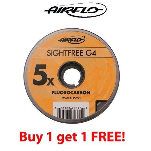 Airflo G4 sightfree Fluorocarbone 100 m Acheter One Get One Free ** 2019 titres ***