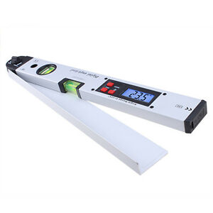 New-Aluminum-Digital-Angle-Finder-Meter-Protractor-Spirit-Level-Lcd-Display-AP