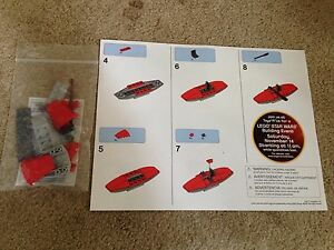 Lego City Red Kayak Toys R Us Exclusive Bricktober Build 2015 Boat with Paddle