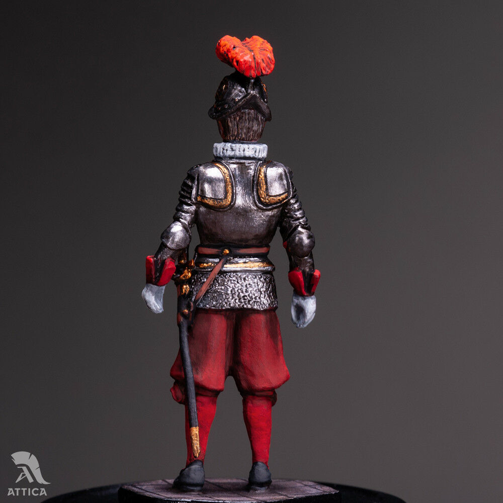 Pontifical Swiss Guard Bodyguard Bodyguard Bodyguard of Pope №1 54mm Tin Toy Soldier   Collectible eca8c4