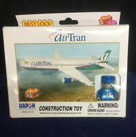 Daron Airtran Airplane 55 Piece Construction Toy Best Lock