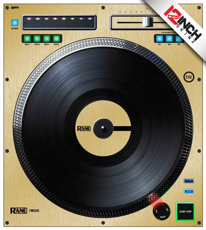 Rane Twelve Skin (SINGLE) brushed Gold