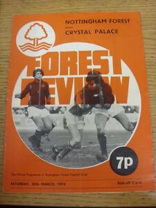 30-03-1974-Nottingham-Forest-v-Crystal-Palace-Folded-Marked