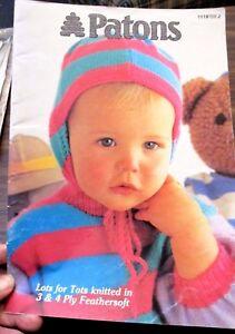 Patons Baby S Knitting Pattern Book No 1119 Ebay