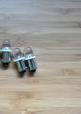 DRAKE SPR-4 or DRAKE 2B/2C receiver  front panel bulbs blue LED lamps lights