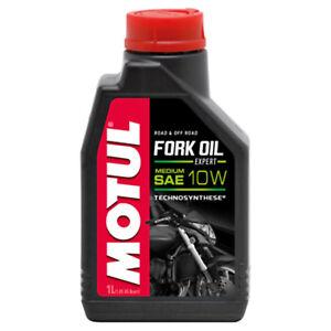 1-Litro-Olio-Idraulico-Per-Forcelle-Motul-Fork-Oil-Expert-Sae-Medium-10w