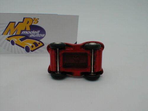 Schuco Piccolo BOBBY-1 # BIG Bobby-Car in rot-weiß als schönes Minimodell !!