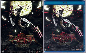 Bayonetta Bloody Fate 2013 Anime 2 Disc Blu Ray Dvd W Rare