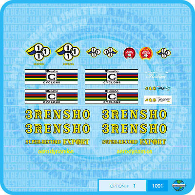 3Rensho Decals Transfers Set 2 Stickers