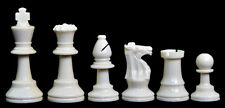 """USCF Sales Analysis Plastic Chess Set - Pieces Only - 2.5"""" King"""