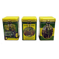 John Deere Square Lock Top Tin Set