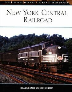 NEW-YORK-CENTRAL-Railroad-MBI-Railroad-Color-History-NEW-BOOK-Original-Printing