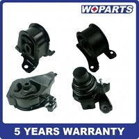 Engine Motor Transmission Mount Set Fit For Honda Prelude 2.2 2.3l 92-96 Manual