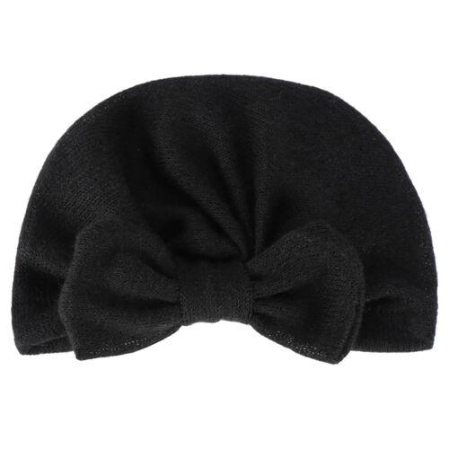 CN/_ Hot Newborn Toddler Baby Girls Turban Knot Head Wrap Beanie Hat Winter Cap