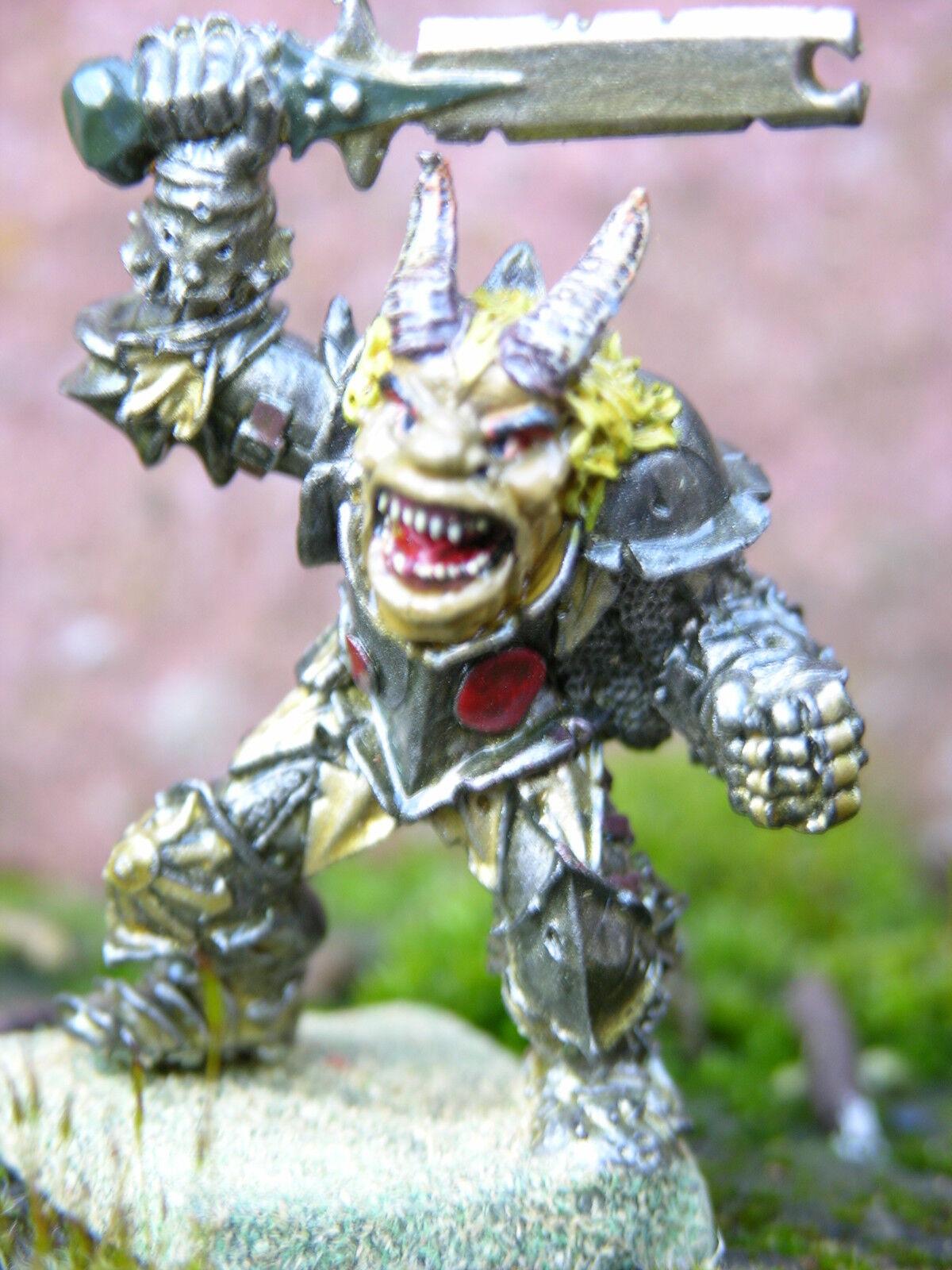 Warhammer Orco  80 Magnificamente Dipinto