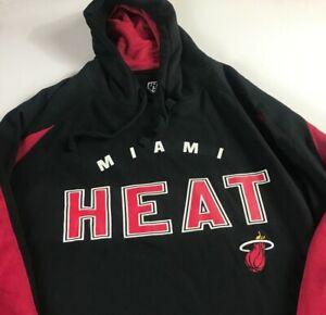 Miami-Heat-Hoodie-Mens-3XL-Sweatshirt-NEW-Pullover-NBA-Basketball-Long-Sleeve
