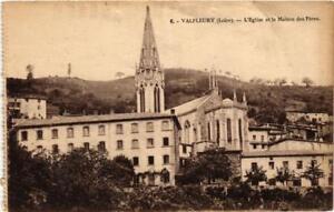 CPA-Valfleury-Eglise-et-la-Maison-des-Peres-664204
