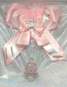 Romany-Crystal-Bling-Dummy-Soother-Pram-Charm-Christening-Baby-Shower-Gift