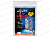 100 Ultra Pro 5x7 Soft Sleeves Premium Photo Postcard Free Shipping