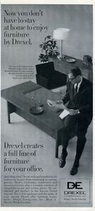 1966 drexel de vintage 60 39 s furniture chair desk print for P s furniture flyer