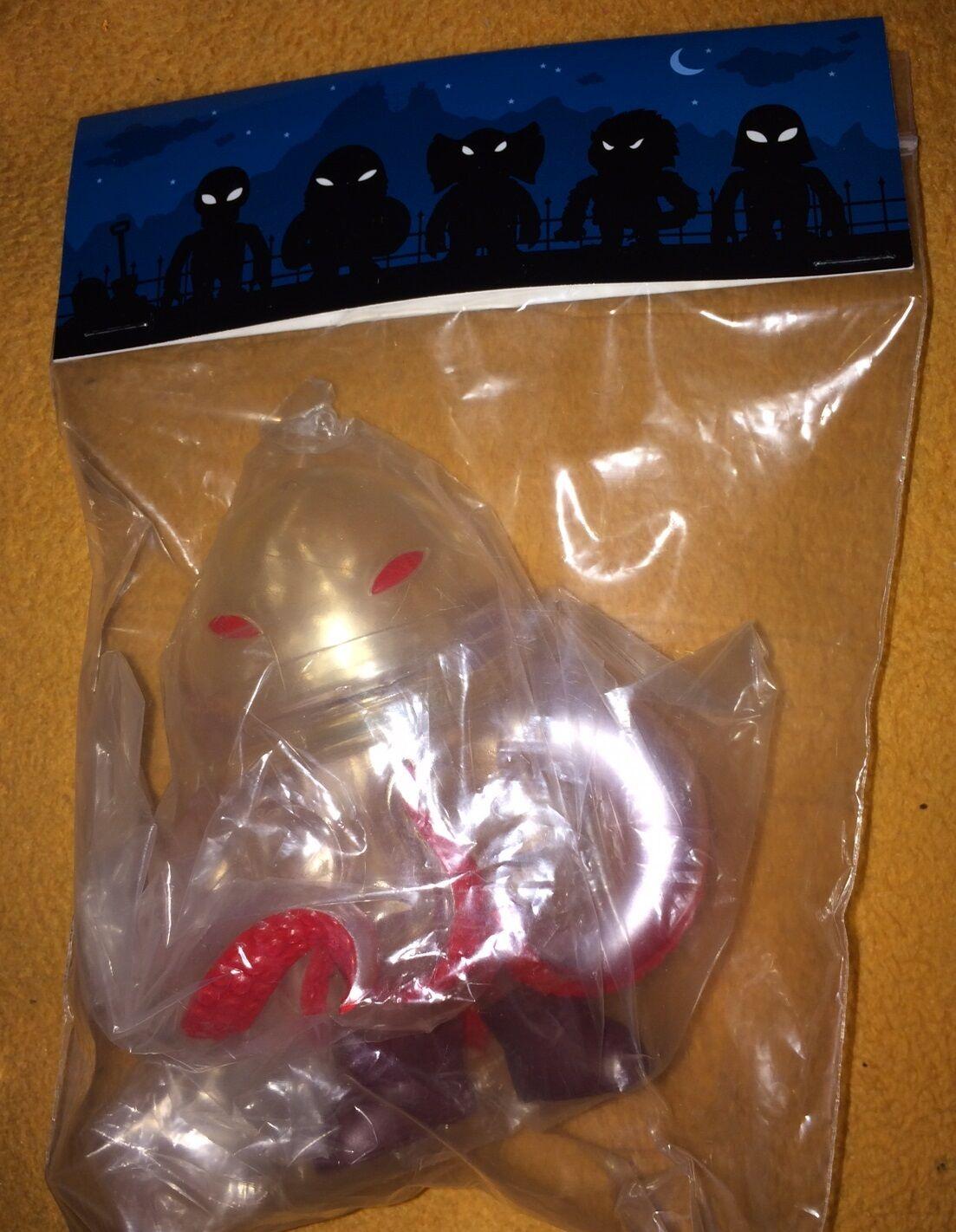 Super 7 vuelta sangre Rage Kaiju Vinilo Arte Figura Gargamel base secreta